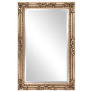 Queen Ann Rectangular Silver Mirror