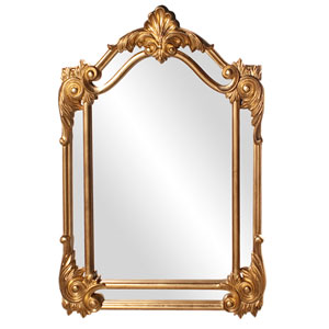 Cortland Gold Rectangle Mirror