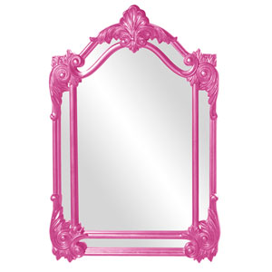 Cortland Hot Pink Mirror