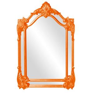 Cortland Orange Mirror