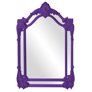 Cortland Royal Purple Mirror