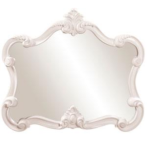 Veruca White Rectangle Mirror