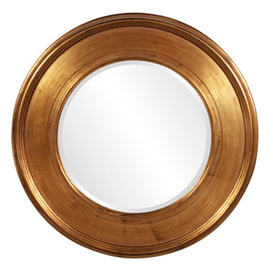 Valor Gold 2-Inch Round Mirror
