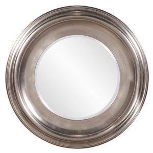 Christian Silver Round Mirror