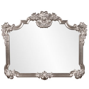 Brighton Silver Leaf Rectangle Mirror
