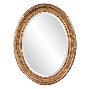 Nero Gold Oval Mirror