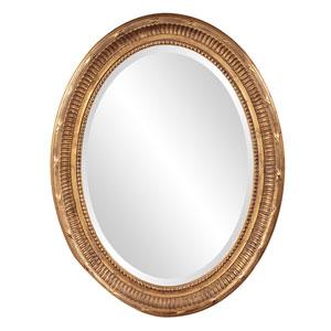Nero Gold Oval Mirror