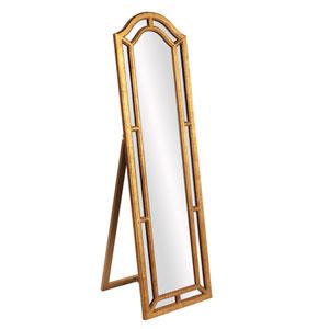 Mark Gold Leaner Mirror
