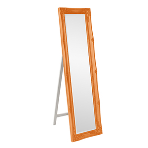 Queen Ann Glossy Orange Mirror