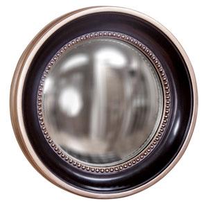 Patterson Tan Round Mirror