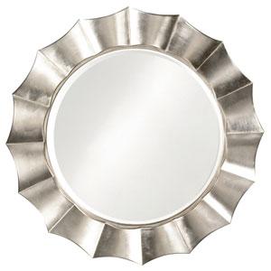 Corona Silver Round Mirror