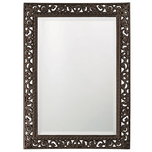 Bristol Wood Rectangle Mirror
