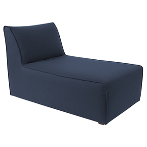 Pod Chair Lounge Sterling Indigo