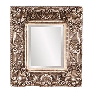 Horace Antiqued Silver Leaf Mirror