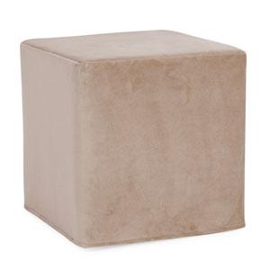 Bella Sand Tip Block Ottoman