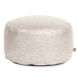 Glam Sand Foot Pouf Ottoman