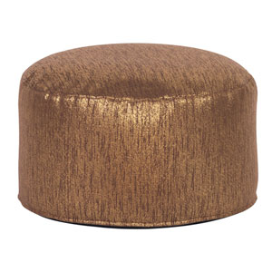 Glam Chocolate Foot Pouf