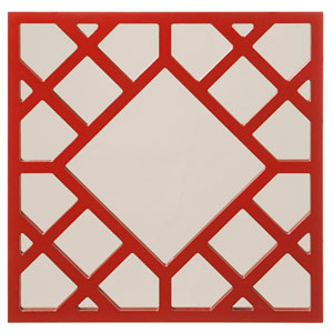 Anakin Red Square Mirror