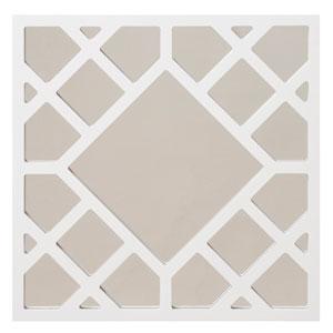 Anakin White Lattice Square Mirror