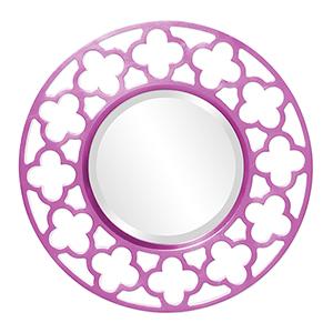 Gaelic Hot Pink Mirror