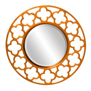 Gaelic Orange Mirror