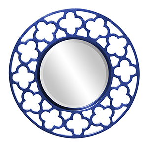 Gaelic Royal Blue Mirror