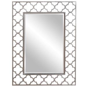 Gaelic Nickel Rectangle Mirror