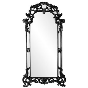 Imperial Black 2-Inch Rectangle Mirror