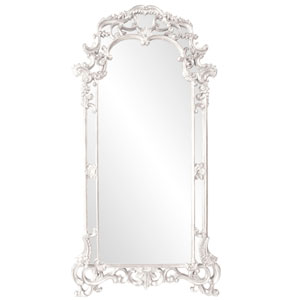 Imperial White Rectangle Mirror