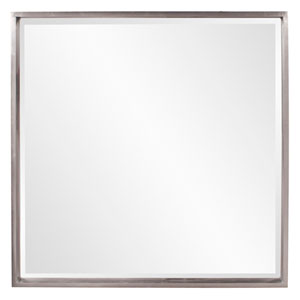 Isa Nickel Square Mirror