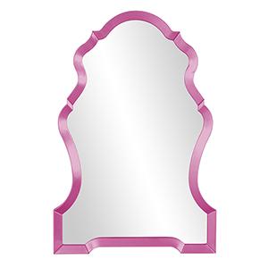 Nadia Glossy Hot Pink Mirror
