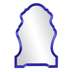 Nadia Glossy Royal Blue Mirror