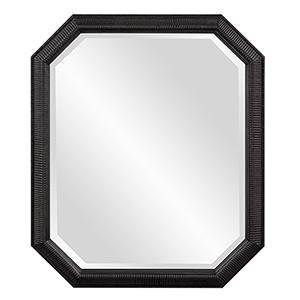 Virginia Glossy Black Mirror