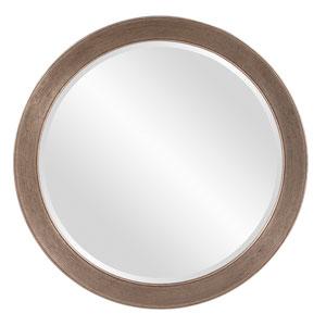 Virginia Antiqued Silver Leaf Mirror