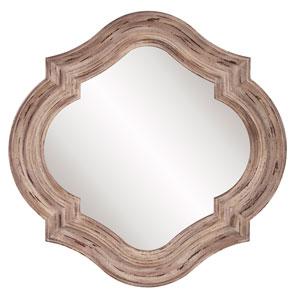 Aubrey Rustic Quatrefoil Mirror