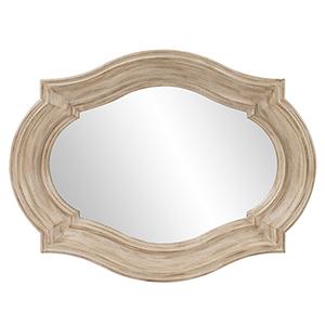 Aubrey Rustic Quatrefoil Mirror - Large