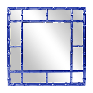 Bamboo Glossy Royal Blue Mirror