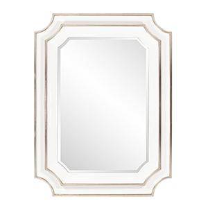Dante Glossy White Mirror