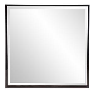 Isa Black Square Mirror