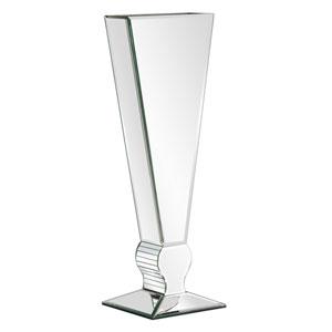 Wood V-Shape Tall Vase