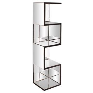 Mirrored Shelf w/ Zig Zag Effect