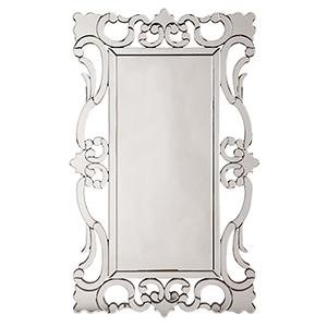 Rebecca Mirrored Scroll Mirror