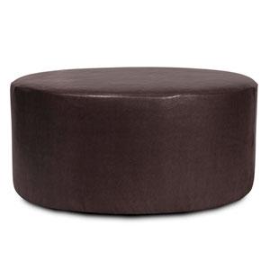 Avanti Black Universal 36-Inch Round Ottoman Cover