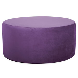 Bella Eggplant Universal Round Cover