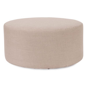 Prairie Linen Natural Universal Round Cover