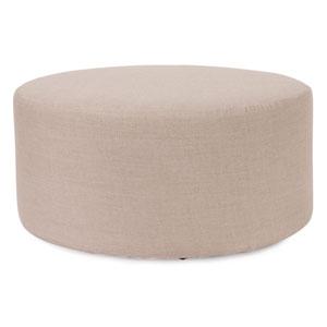 Prairie Linen Natural Universal Round Cover