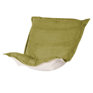 Bella Moss Green Puff Chair Cover