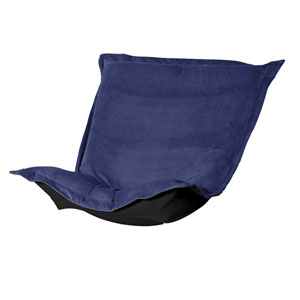 Bella Royal Blue Puff Chair Cover