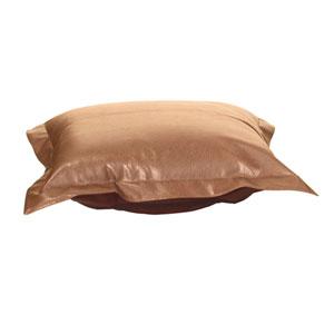 Avanti Bronze Puff Ottoman Cover