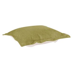 Bella Moss Green Puff Ottoman Cover